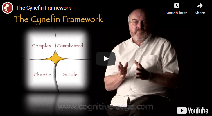 The Cynefin Framework Complexity