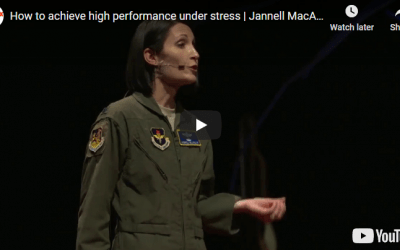 How to achieve high performance under stress | Jannell MacAulay | TEDxABQ