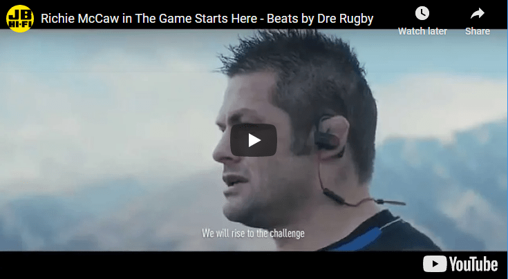 Richie McCaw in The Game Starts Here – Beats by Dre Rugby